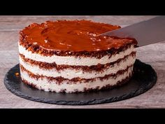 Dorty už dávno nepeču. Úžasný nepečený dort| Cookrate - Czech - YouTube Biscuits, Chocolate Malt, Valentines Day Cookies, Prune, Four, Cake Pops, Vanilla Cake, Tiramisu, Sweet Treats