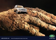 Land Rover Ad by Emad Khayyat, via Behance