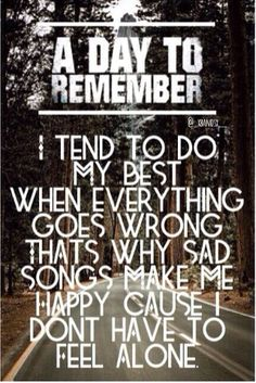 A Day To Remember ~ Sometimes You're The Hammer, Sometimes You're The Nail