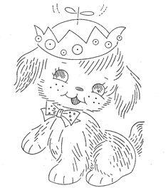 Vintage Hand Embroidery Pattern PDF File Design by BlondiesSpot