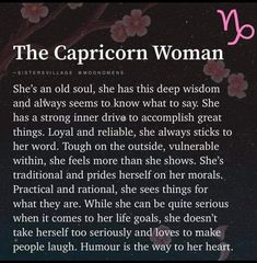 Capricorn Images, Capricorn Rising, Capricorn Girl, Zodiac Sign Traits, Capricorn Moon, Capricorn Tattoo, Capricorn Quotes, Zodiac Signs Capricorn, Zodiac Capricorn
