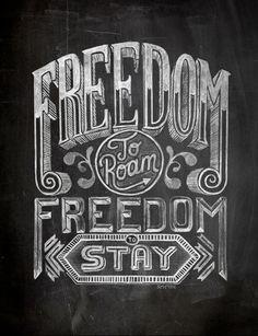 Chalk Typography by Stuart Smythe