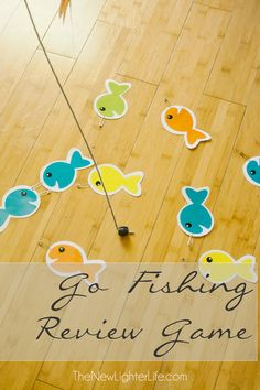 Classical Conversations ~ Review Fishing Game