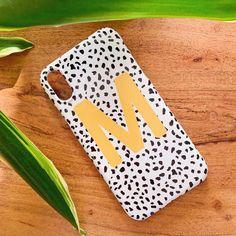 Mustard Personalised Dalmatian Phone Case - iPhone XR