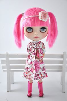 Dress for Blythe dolls Outfit by MiemaBlythe on Etsy