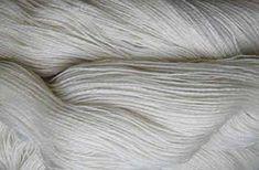 Merino Lace Garn 14-2 Naturweiß - gezwirnte Schurwolle - Das Wollschaf (natürlich & kreativ)