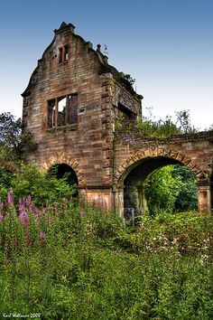 Reclaimed - Woodilee, near Kirkintilloch, site of an asylum opened in the 19th century - Scotland