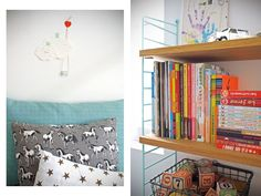 房間裡的小房子!兒童房的good idea!法國的兩姐妹Lélia & Thélissa組成的Bonnesoeur(s)設計打造出這個超棒的房間!