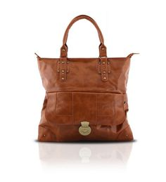 GOTG Brown Shopping Bag on glamouronthego.co.uk