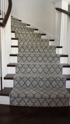 Custom stair runner Westchester House and Home call for details