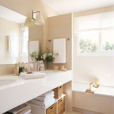 Three bathroom trends, as presented by Metricon - Get In My Home Home, Bathroom Styling, House Styles, Scandinavian Bathroom, Bathroom Trends, Sweet Home, Big Bathrooms, Bathroom Design, Home Deco