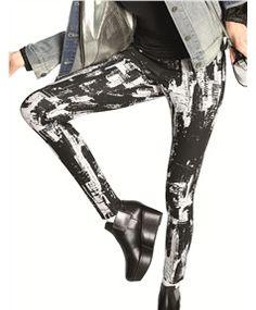 87f4426e27a36 HUE NY Cityscape Super Smooth Denim Leggings Denim Leggings, Hue Leggings,  Women's Fashion Leggings