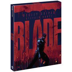 Blade - Zavvi Exclusive 4K Ultra HD Steelbook (Includes 2D Blu-ray) Blu-ray - Zavvi UK Wesley Snipes, Kris Kristofferson, Tortured Soul, Half Man, 4k Uhd, Conan, I Movie, 2d, Blade