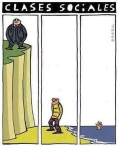 Clases sociales... #Viñeta #Humor