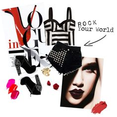 """ROCK YOUR WORLD !"" by fetussyni on Polyvore"