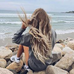 Strand wellige Frisuren-6