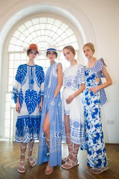 Backstage of the Temperley London Summer 16 Show