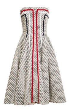 Paneled Tweed Jacquard Dress by Thom Browne - Moda Operandi I absolutely LOVE this dress. However, not for that price tag. Time to find a dupe. African Wear, African Attire, African Fashion Dresses, African Dress, African Women, Ghanaian Fashion, Indian Dresses, Spring Dresses, Short Dresses