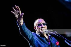 Musicians Roger Daltrey and Pete Townshend, members of the rock band The Who, on stage performing live in concert at the Mediolanum Forum during the Back to the Who Tour 51! Assago (Milan), Italy. 19th September 2016