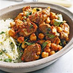 Chilli beef with chickpeas recipe