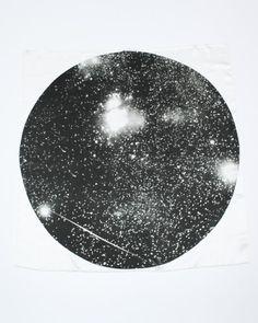 meteor print scarf ++ fieldguided