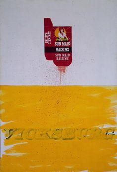 Box Smashed Flat (1961) by Ed Ruscha