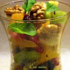 Gyümölcssaláta 90 napos diétához Pickles, Cucumber, Ale, Food, Ale Beer, Meals, Cauliflowers, Yemek, Pickle