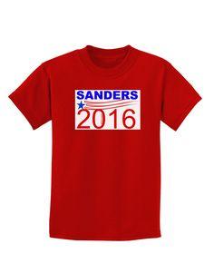 TooLoud Sanders 2016 Childrens Dark T-Shirt
