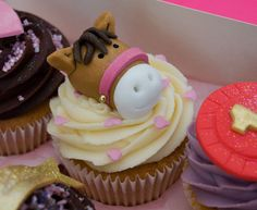 horse cupcakes | Horse Birthday Cupcakes | Flickr - Photo Sharing!