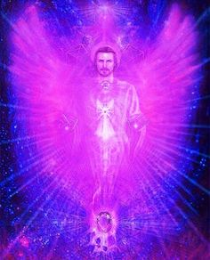 Invocation for Archangel Zadkiel. Archangel Zadkiel 'please bathe me in your violet flame to help with any transformation of stuck energies and to help with my spiritual growth' Thank you Saint Germain, Corps Astral, Archangel Zadkiel, Les Chakras, The Violet, I Believe In Angels, Ascended Masters, Divine Light, Angels Among Us