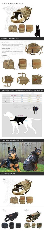 OneTigris tactical dog vest