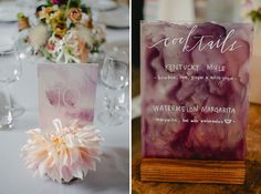 Bright and Artsy Sausalito Wedding - Table settings Wedding Table Settings, Wedding Table Numbers, Wedding Tables, Wedding Signs, Wedding Cards, Wedding Shot, Wedding Dj, Wedding Dreams, Blush Wedding Centerpieces