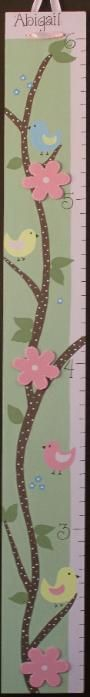 Once again, WRONG picture, but right idea.  Me and my dad are going to make these wooden growth charts for the babies rooms! I'm so excited!!/  Total success!  It is beautiful in baby's room!