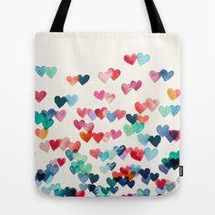 Heart Print bag