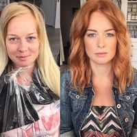 Wet Balayage Can Become Your Go-To When Highlighting Short Hair - Color - Modern Salon Icy Blonde, Cool Blonde, Bright Blonde, Blonde Color, Party Make-up, Maquillage Halloween, Halloween Makeup, Halloween Ideas, Cut And Color