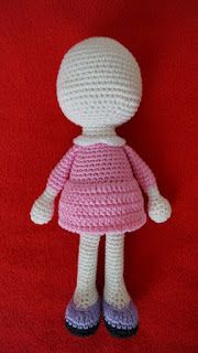 Amigurumi Little Doll-Free Pattern | Amigurumi Free Patterns