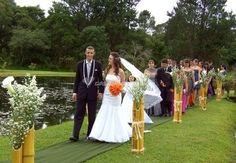 arranjos com bambu para casamento - Pesquisa Google