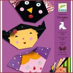 Djeco Djeco knutselset Origami Gezichten
