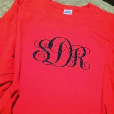 A Crafty Giveaway...  monogrammed tshirt for teachers...  ends 1/5/14