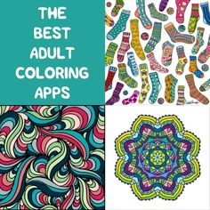 The Best Adult Coloring Apps Coloring apps, Coloring