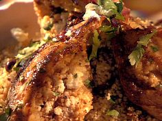 Couscous Stuffed Chicken Breast with Feta, Sun-Dried Tomatoes and Kalamata Olives