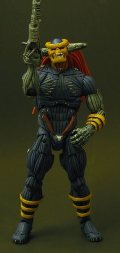 toycutter.com Death's Head action figure (Marvel Comics) death's head is not that great, but the figure is pretty cool.