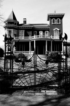 The home of Stephen King in Bangor, Maine