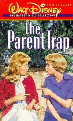 "The original Parent Trap - - loved this when I was a kid. My friend Ellen and I would play ""Parent Trap"" all the time! Cinema Tv, Films Cinema, Film Music Books, Music Tv, Old Movies, Great Movies, Vintage Movies, Love Movie, I Movie"