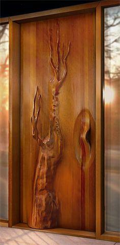 Exterior Tree Door