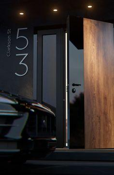 Flush Door Design, Door Design Interior, Flush Doors, Concealed Hinges, Entry Way Design, Composite Door, Entrance Doors, Security Doors, Entryway