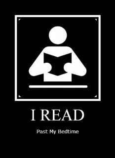 I used to get in trouble for reading by my nightlight until like 2 in the morning.