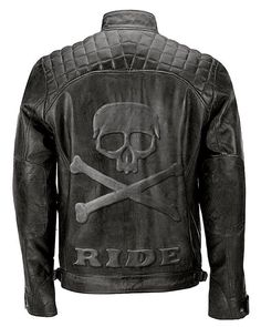 5c0632d93 Details about Men's Biker Quilted Vintage Distressed Motorcycle Cafe Racer  Leather Jacket