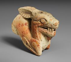 Vase in the form of a ketos, second half of 7th century b.c. Greek (Cretan or South Italian) Terracotta