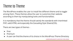 cool WordPress   Theme installation and help